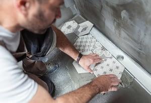 Floor Tile Cleaning